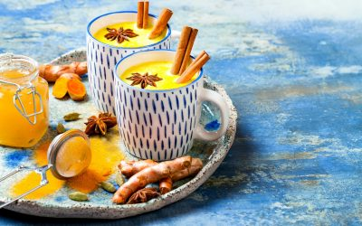 Turmeric milk or Golden milk recipe