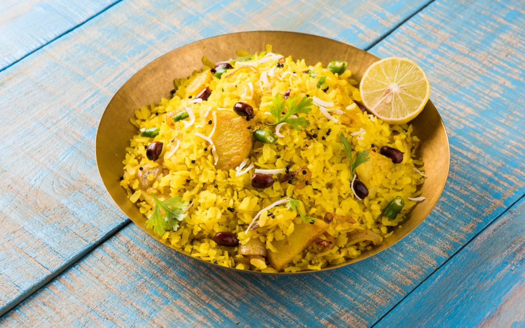 Poha (Flattened Rice or Beaten Rice) Recipe
