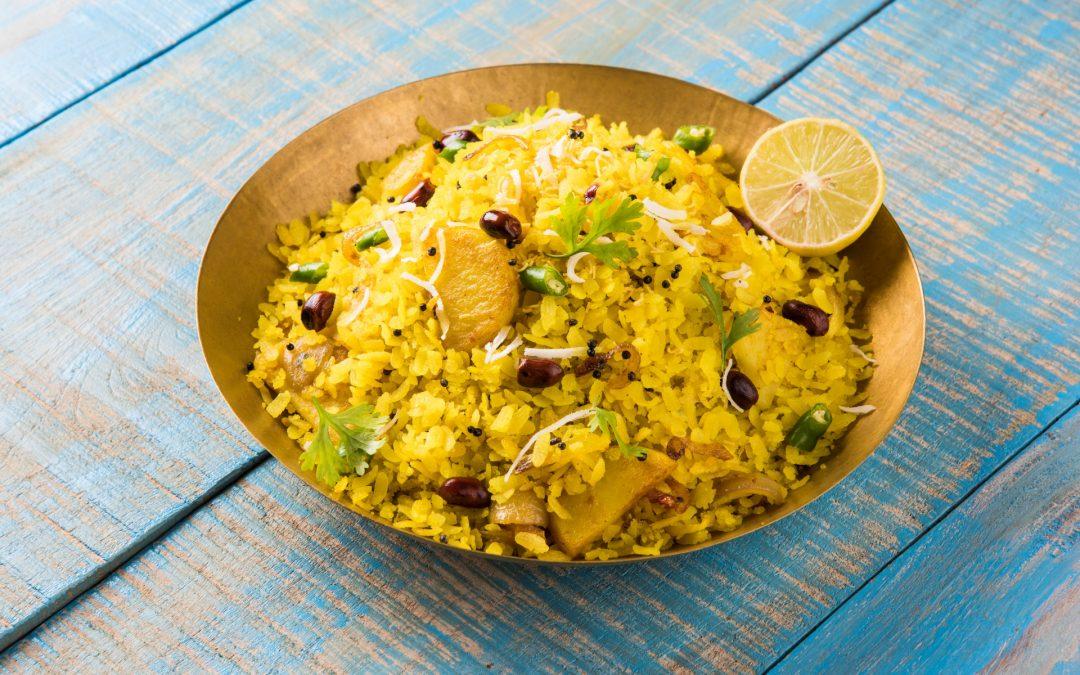 Poha (Flattened Rice or Beaten Rice) Recipe